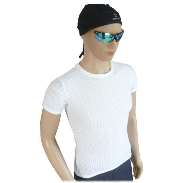 canotta intima ciclismo uomo colore bianco