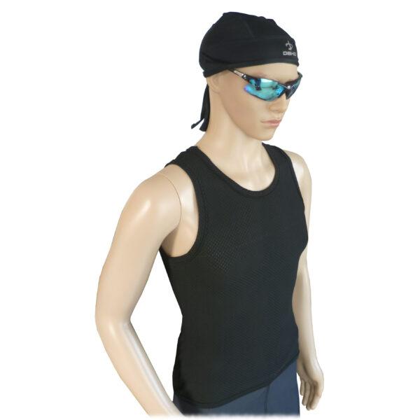 canotta intima ciclismo uomo colore nero