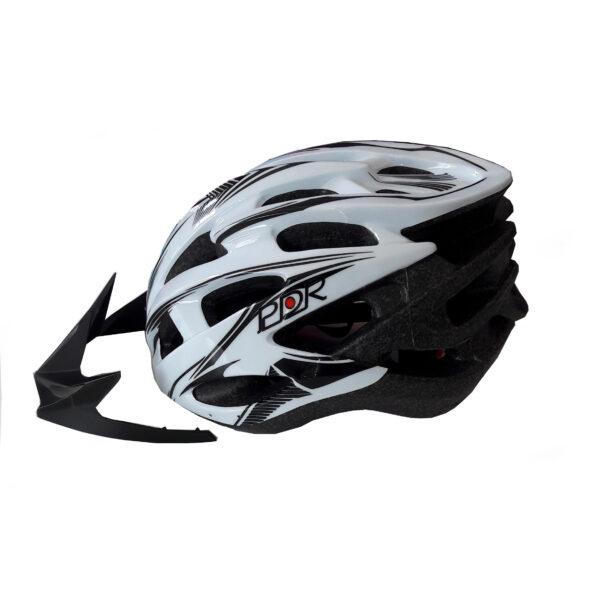 casco adulto pdr mv88 colore bianco nero