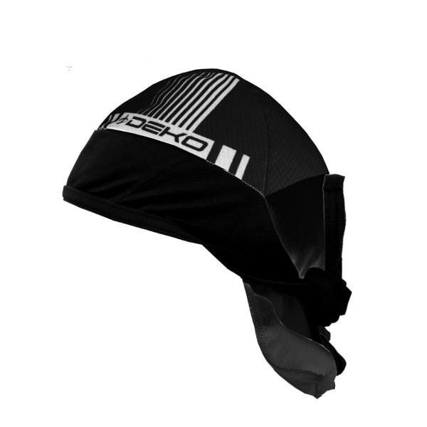 bandana estiva modello style colore nero bianco