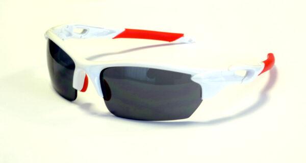 occhiali deko one colore bianco rosso