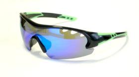Occhiali DEKO AIR, colore nero/verde