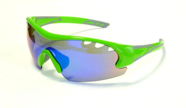 occhiali deko air colore verde fluorescente