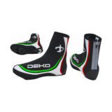 Copriscarpe DEKO NEW GRAPHICS, colore nero/tricolore bandiera italiana