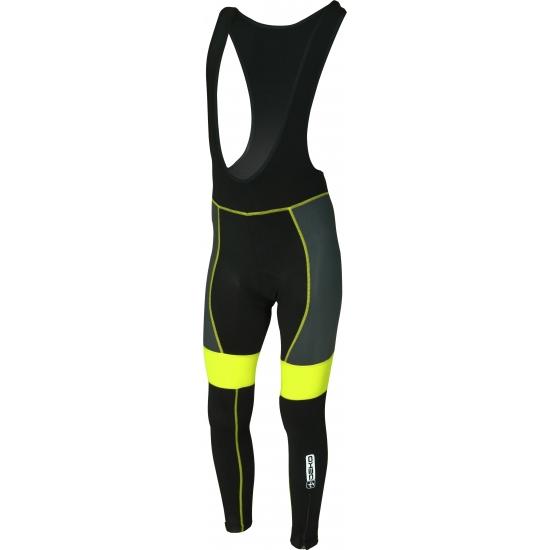 calzamaglia invernale deko leader gel colore nero giallo fluorescente