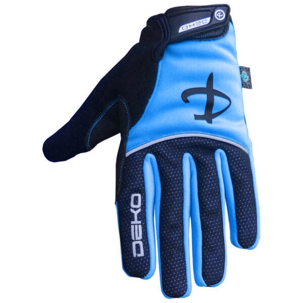guanti deko tech colore blu nero