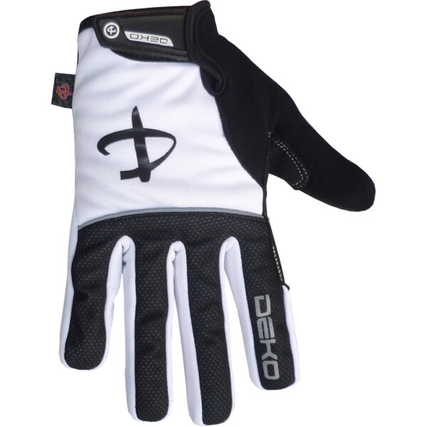 guanti deko tech colore bianco nero