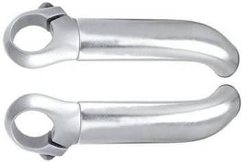 appendici manubrio in alluminio colore silver