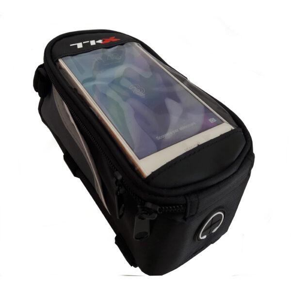 borsetta portasmartphone large colore nero