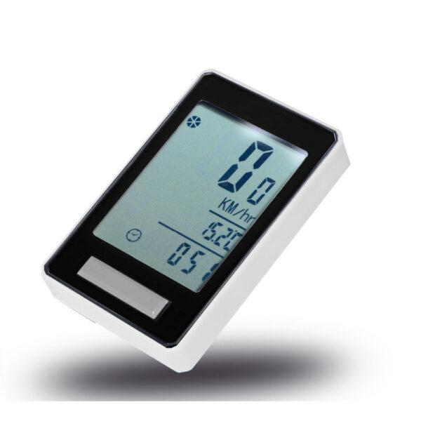 ciclocomputer pdr wireless 014 colore bianco nero