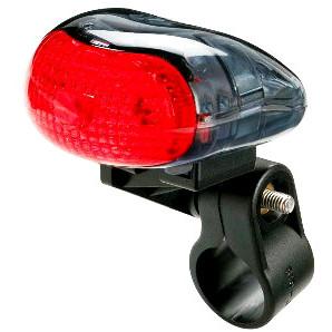 fanale posteriore a batteria mizar 1 led
