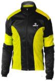 Giubbino ciclista DEKO LEADER, colore giallo fluorescente/nero