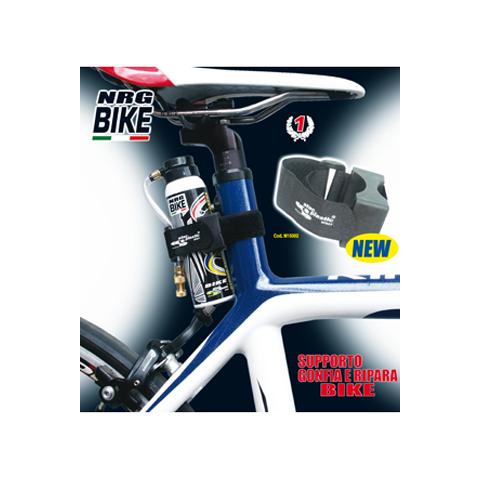 supporto per bomboletta gonfia e ripara nrg bike
