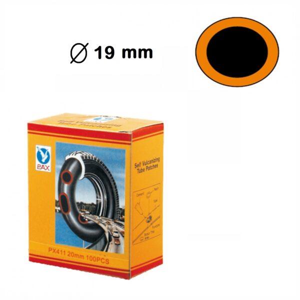 scatola rappezzi tondi diametro 20 mm 100 pezzi
