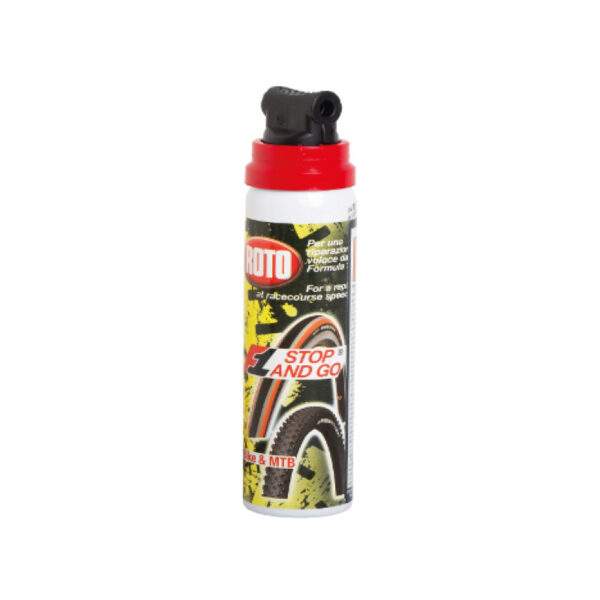 bomboletta gonfia e ripara stop and go 100 ml roto