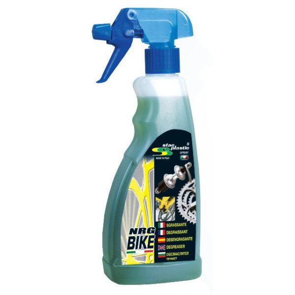 sgrassante spray flacone 500 ml nrg bike