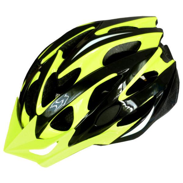 casco adulto pdr mv29 giallo fluorescente nero