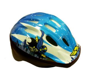casco bambino pdr flying man azzurro bianco