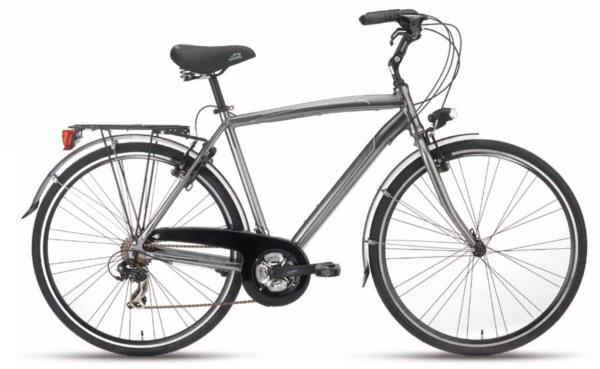 city bike voyager man