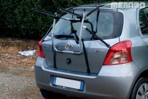 portaciclo posteriore per auto biki