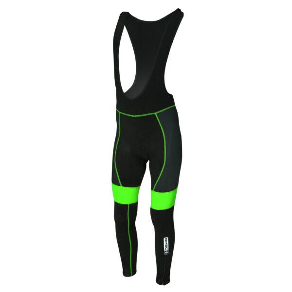 calzamaglia deko sports nero/verde fluorescente