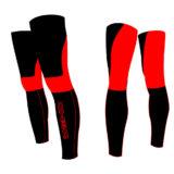 Gambali DEKO NEW DUAL, colore nero/rosso