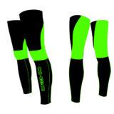 Gambali DEKO NEW DUAL, colore nero/verde fluorescente