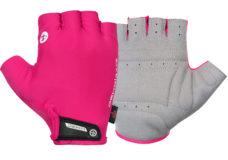 Guanti ciclista, modello Race, colore rosa