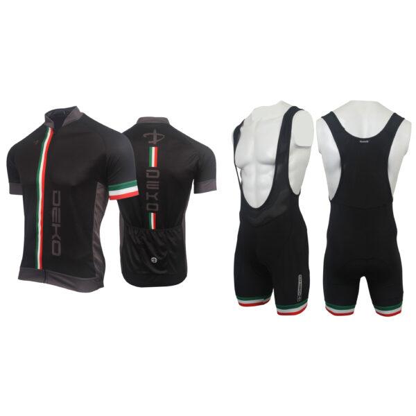 completo estivo Deko Sports Flag nero/tricolore