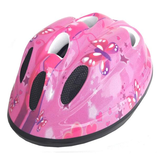 casco PDR butterfly rosa