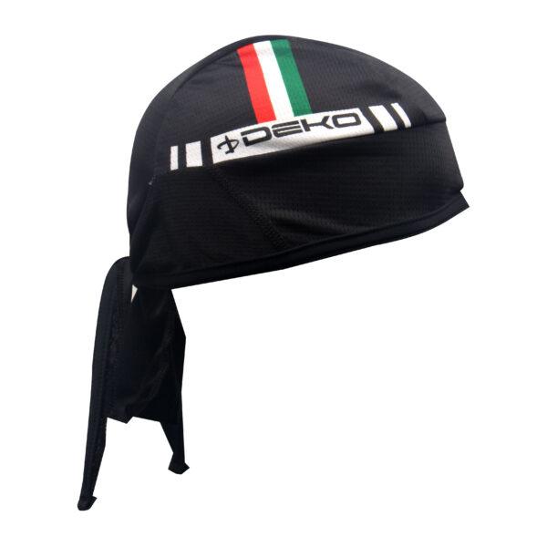 bandana Deko Sports Flag nero/tricolore