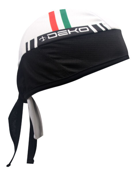bandana Deko Sports Flag bianco/tricolore
