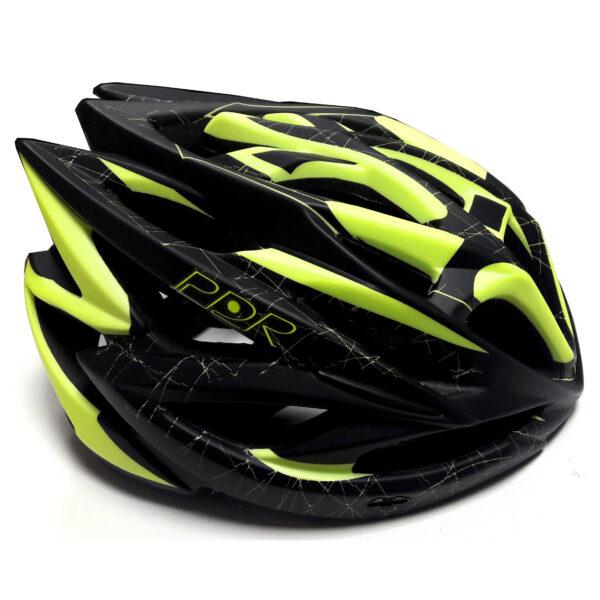 casco pdr hb20 nero giallo fluorescente