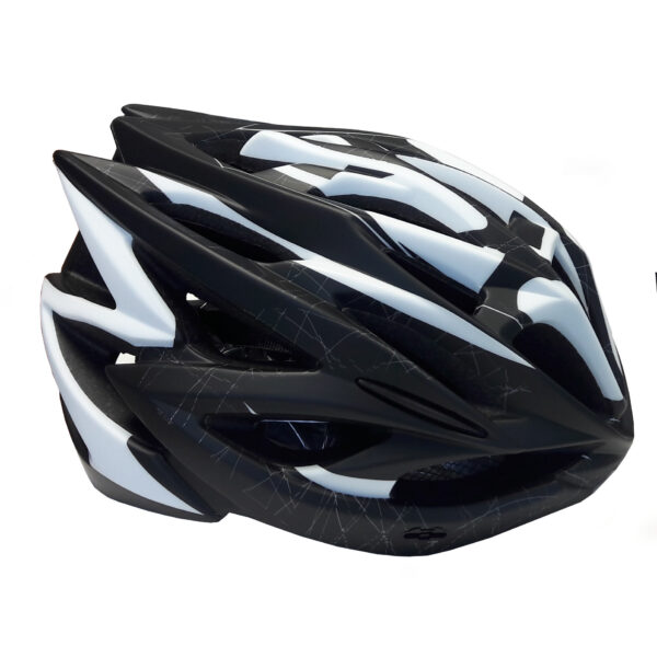 casco pdr hb20 nero/bianco