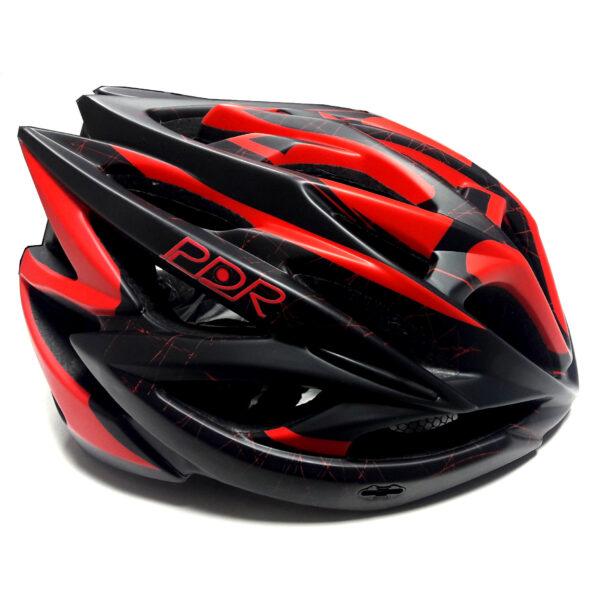 casco pdr hb20 nero rosso
