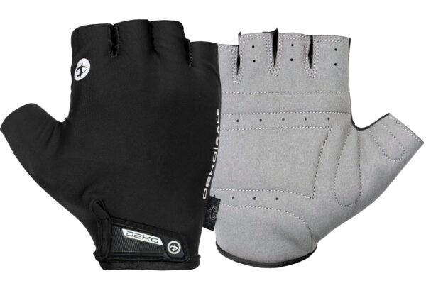 guanti race Deko Sport colore nero